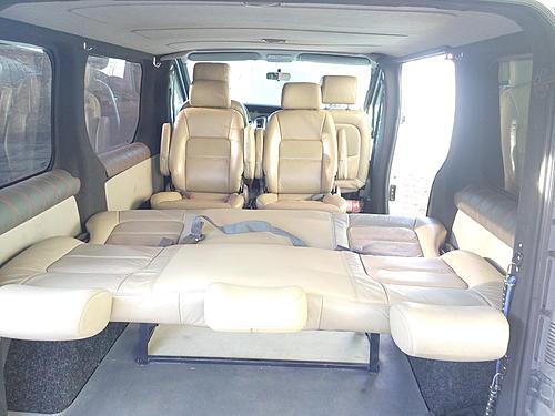 Задние сидения на Trafik - Пост 432150 - Фото 2