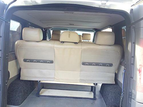 Задние сидения на Trafik - Пост 432150 - Фото 3